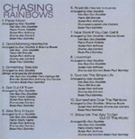 Chasing Rainbows - Liner 2